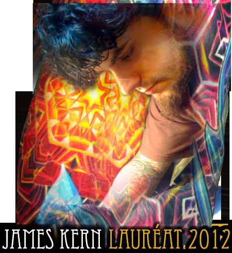Lauréat 2012
